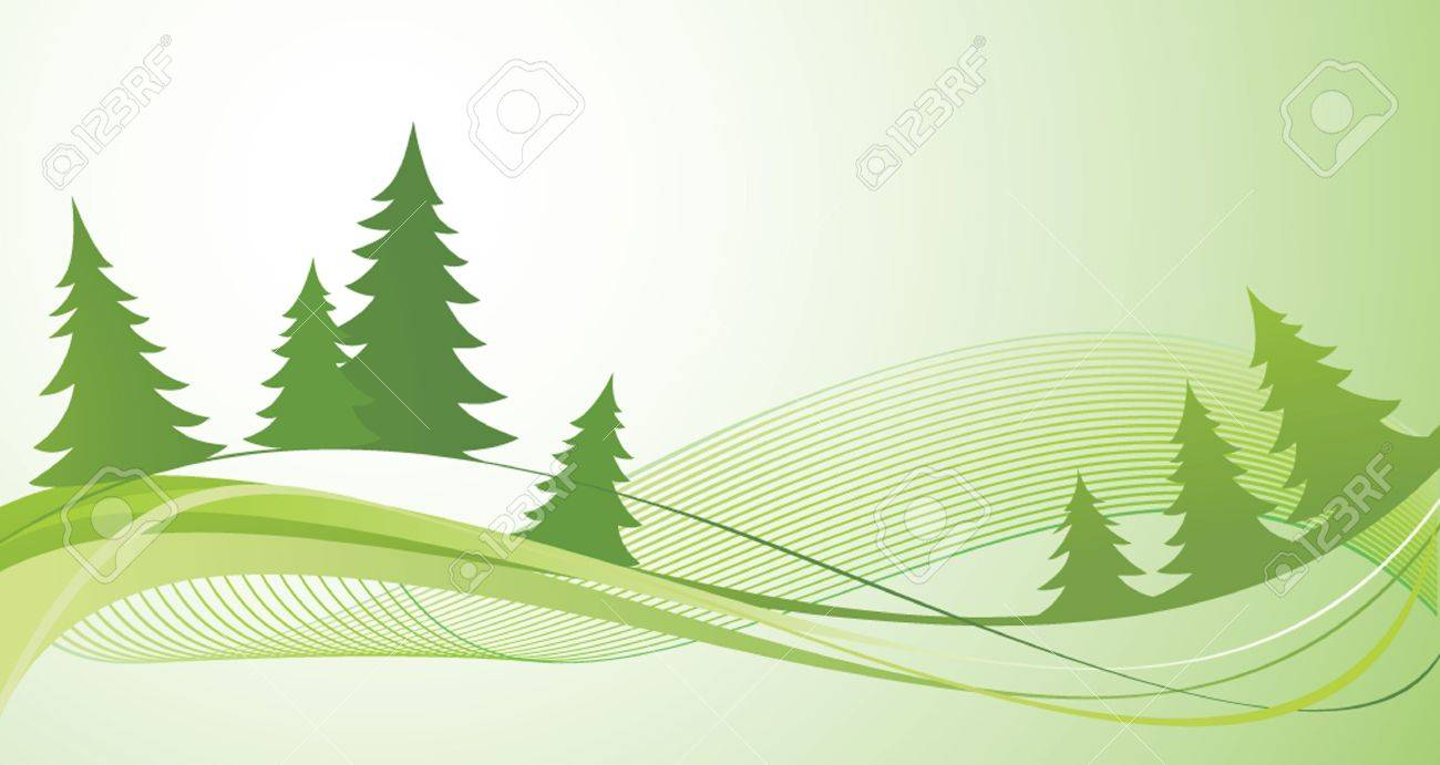 Firs Stock Vector - 19034660