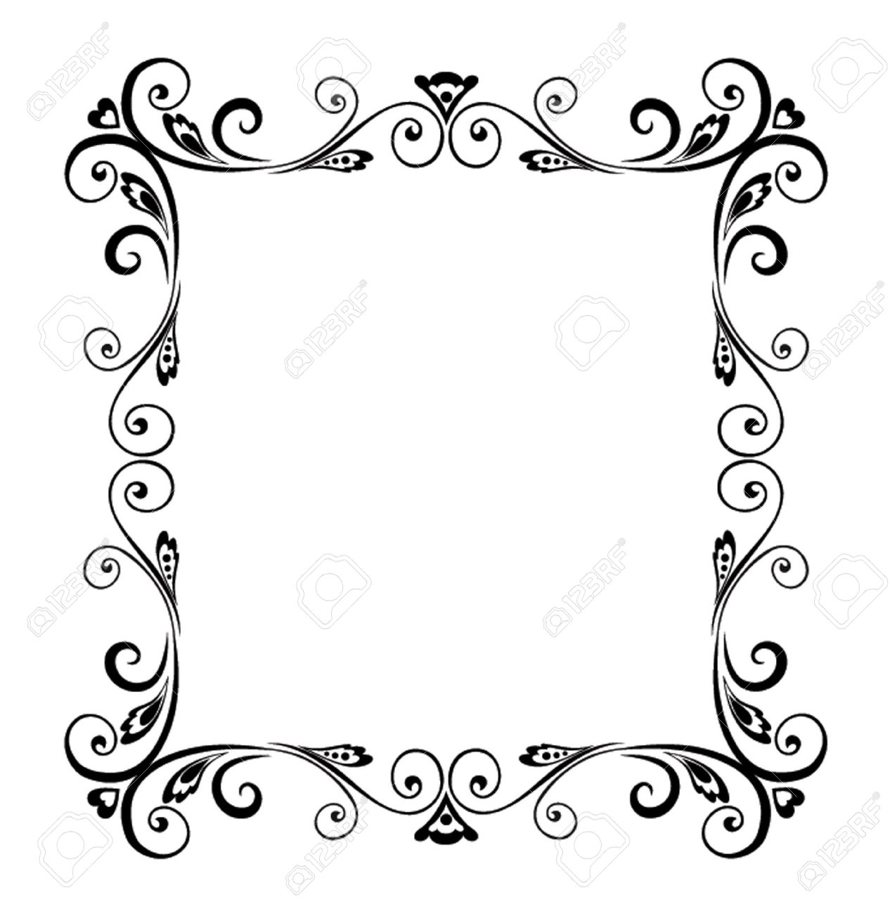Decorative Frame Royalty Free Cliparts, Vectors, And Stock ...