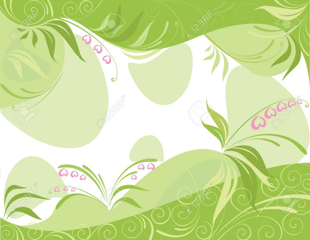 Spring background Stock Vector - 19034827