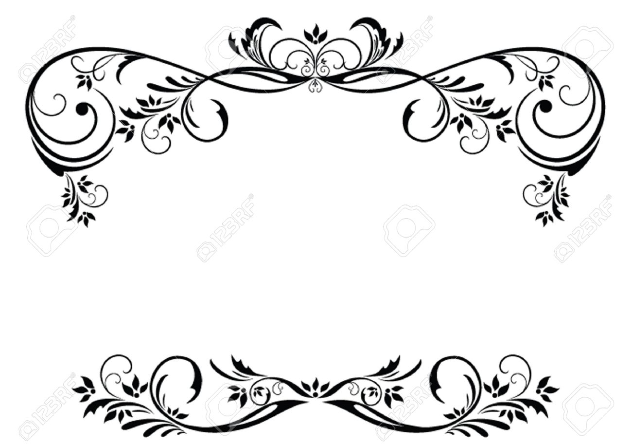Vintage Floral Frame Royalty Free Cliparts, Vectors, And Stock ...