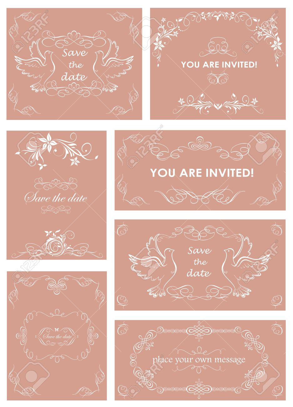 plantillas invitaciones de boda