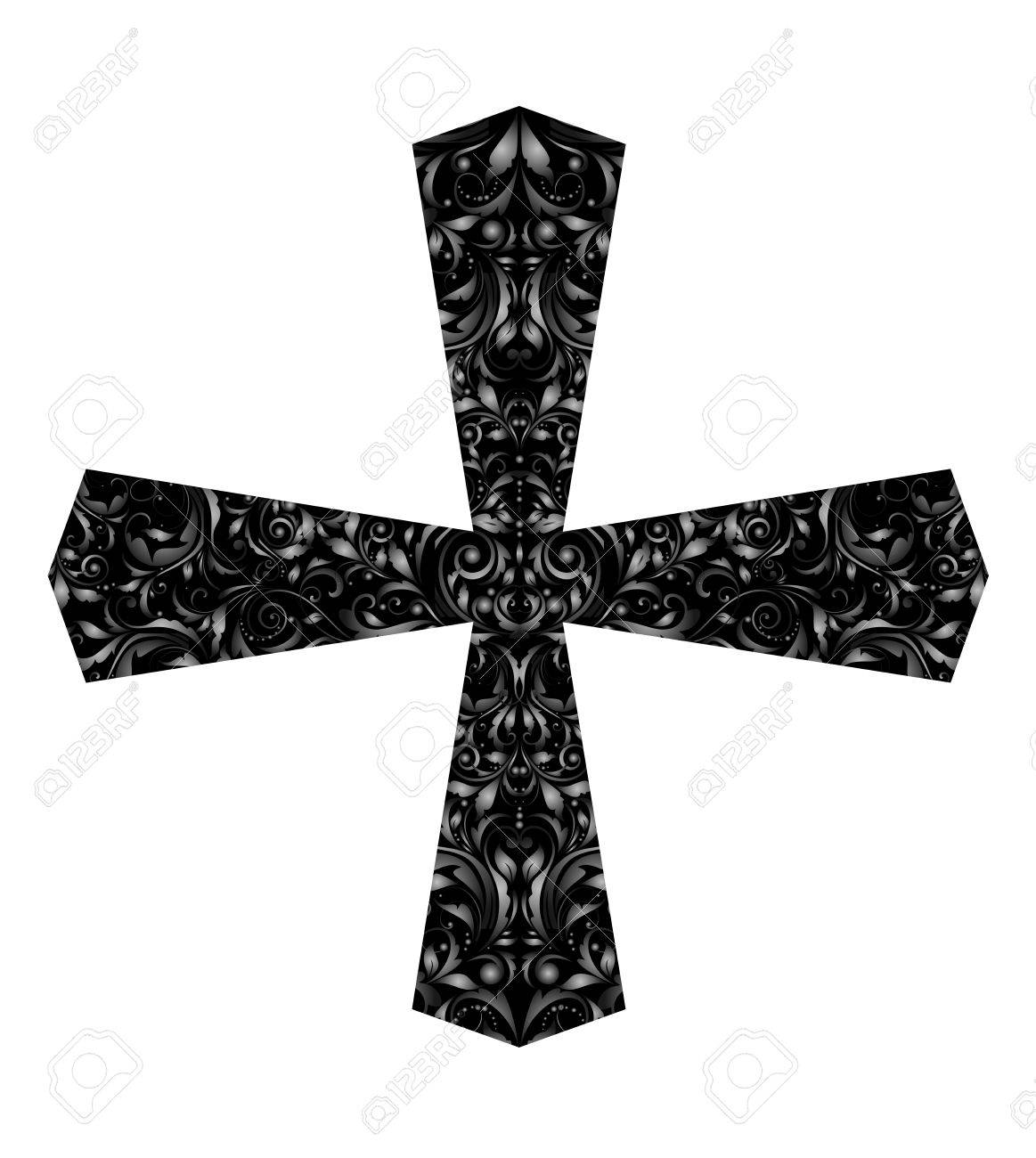 Vintage Catholic Cross Royalty Free Cliparts Vectors And Stock