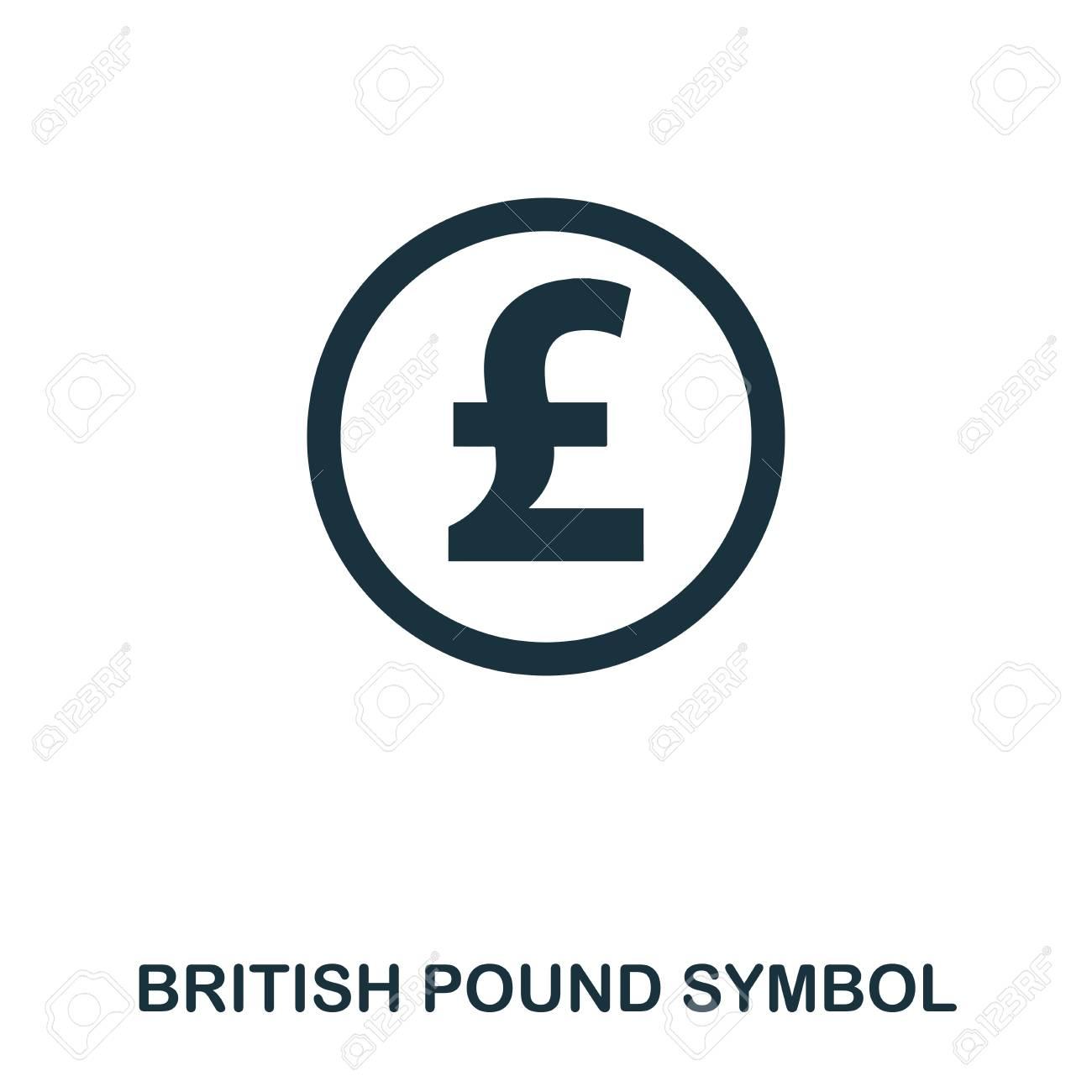 British Pound Symbol Icon Mobile App Printing Web Site Icon