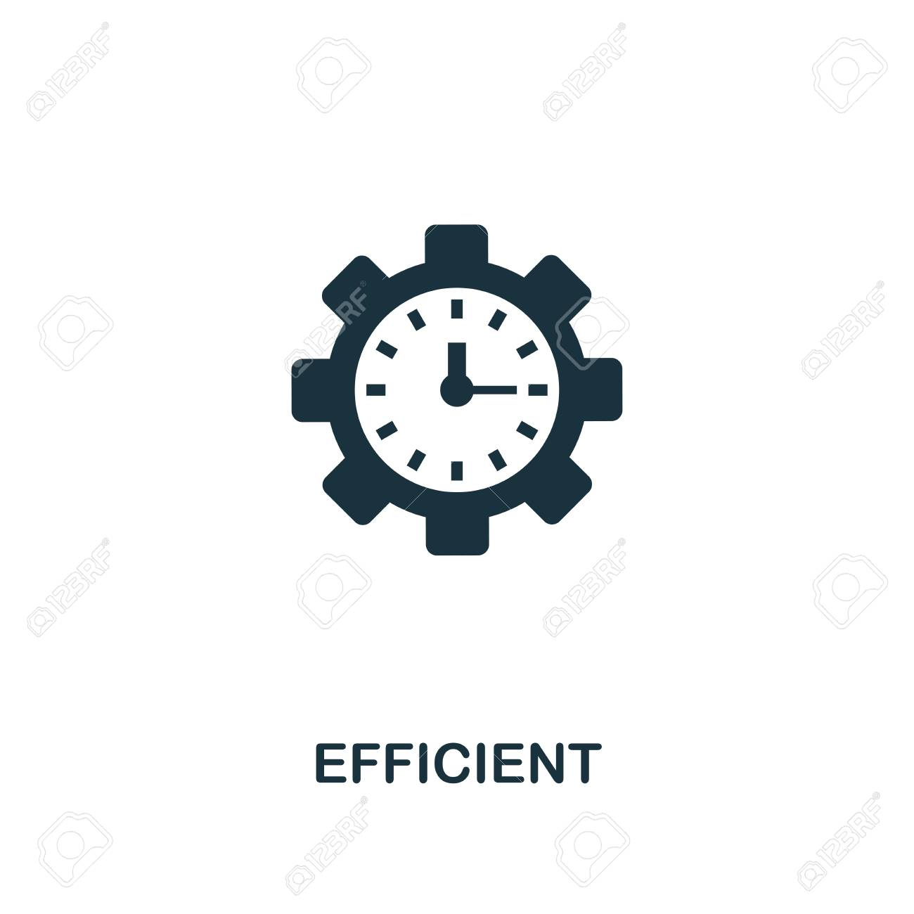 Efficient icon  Premium style design, pixel perfect efficient