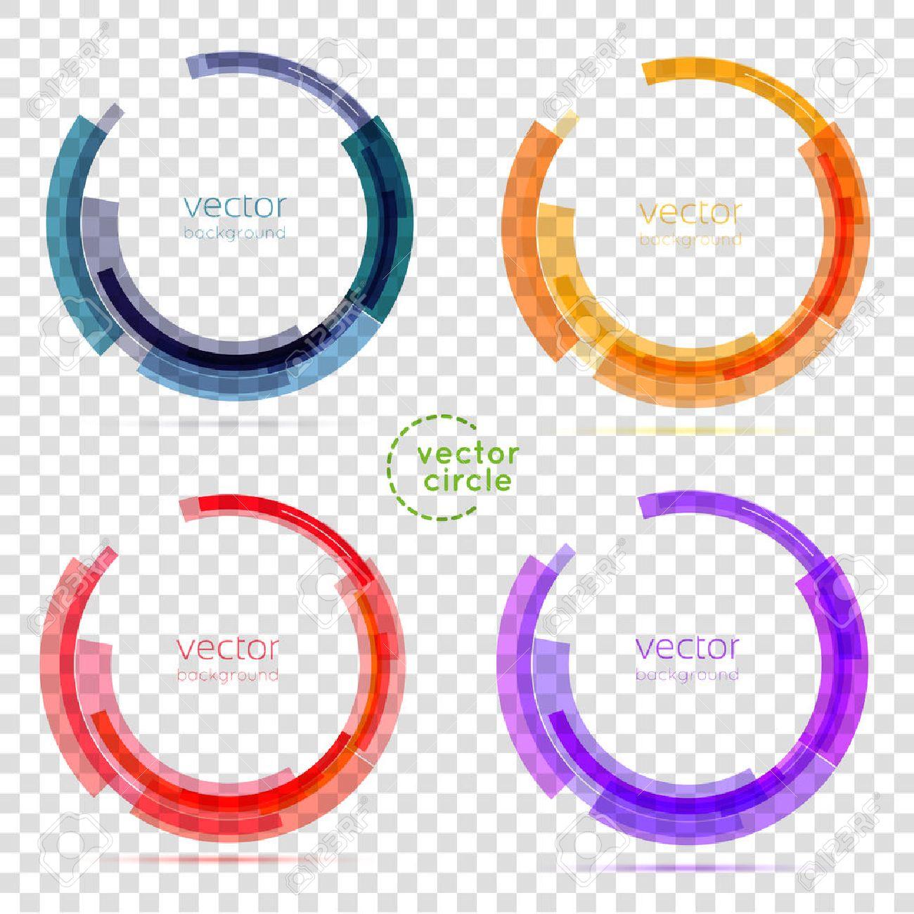 circle set vector illustration business abstract circle icon