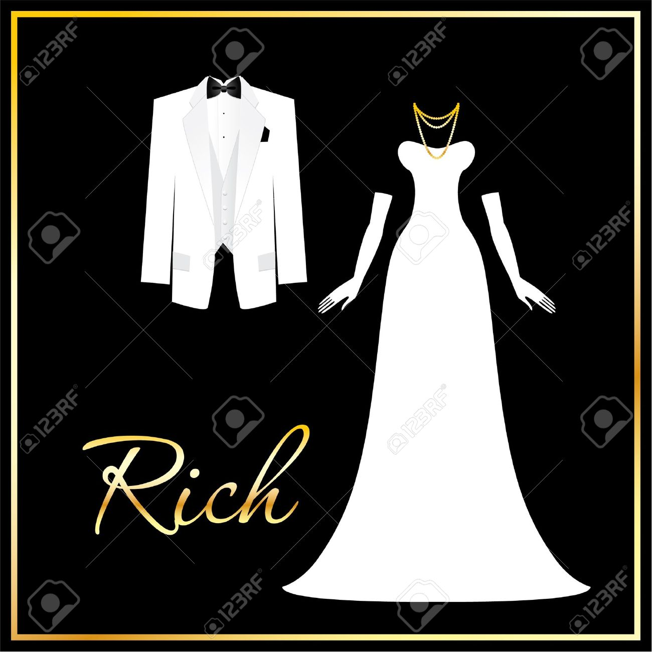 Dress code evening gown - Luxurious Dress Code A Symbol Of Wealth Success And Affluence For Men