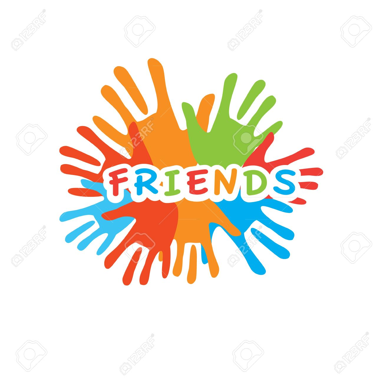 Sign of friends vector symbol of friendship uniting royalty free sign of friends vector symbol of friendship uniting stock vector 20865257 biocorpaavc Images
