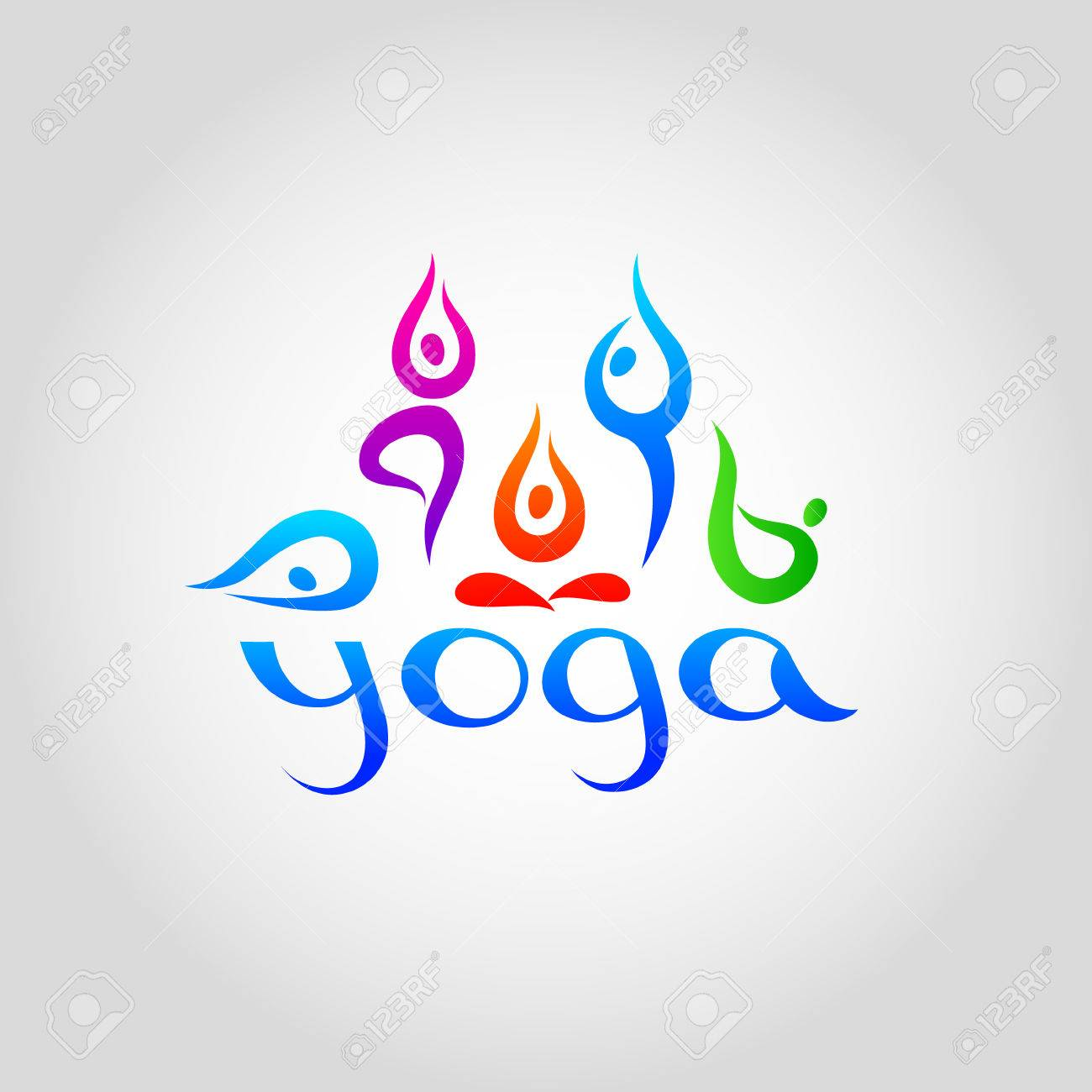 Template For Schools Of Yoga Royalty Free Cliparts Vectors And Stock Illustration Image 30352020