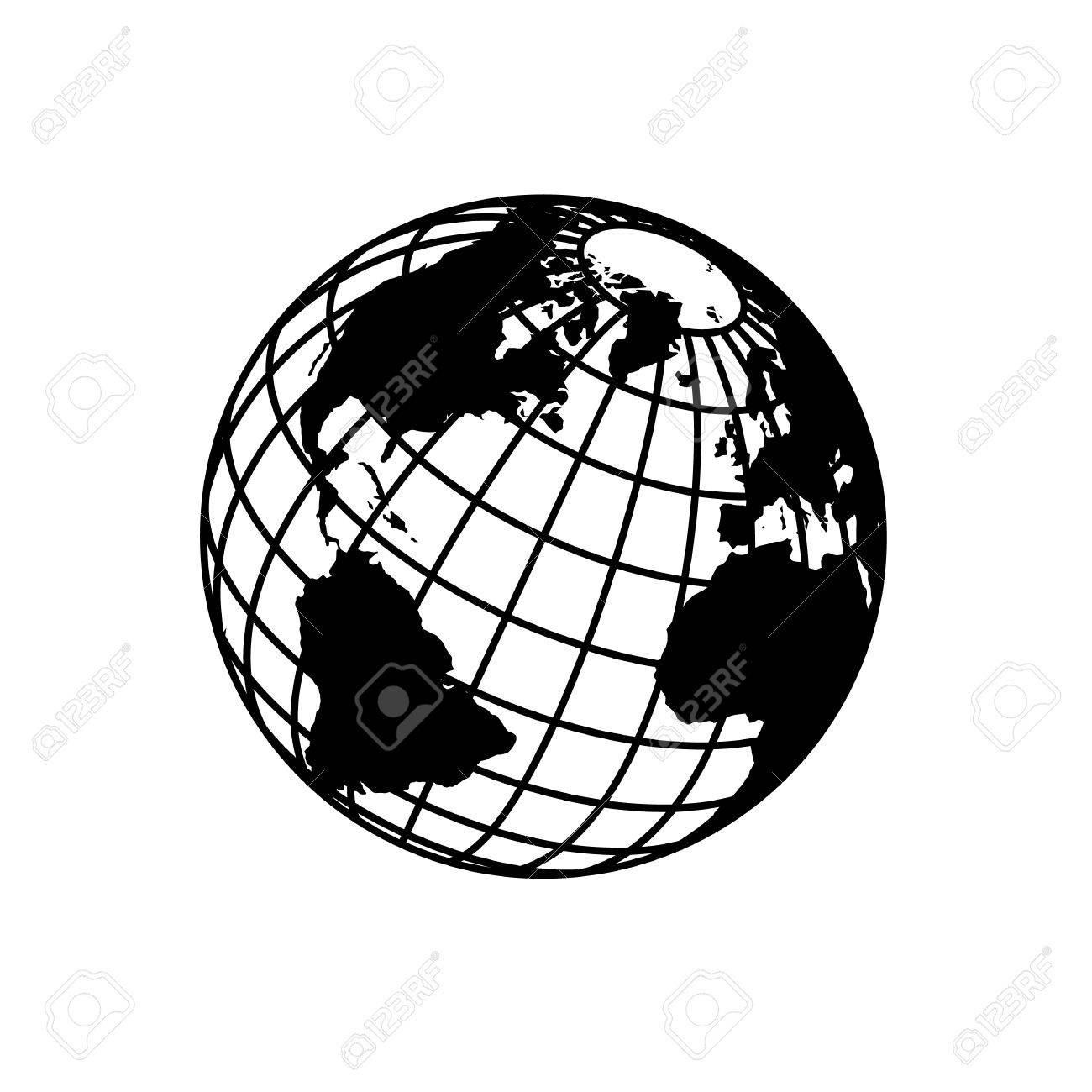 Sign Of The Earth. Template Logo For The Company, Association ...