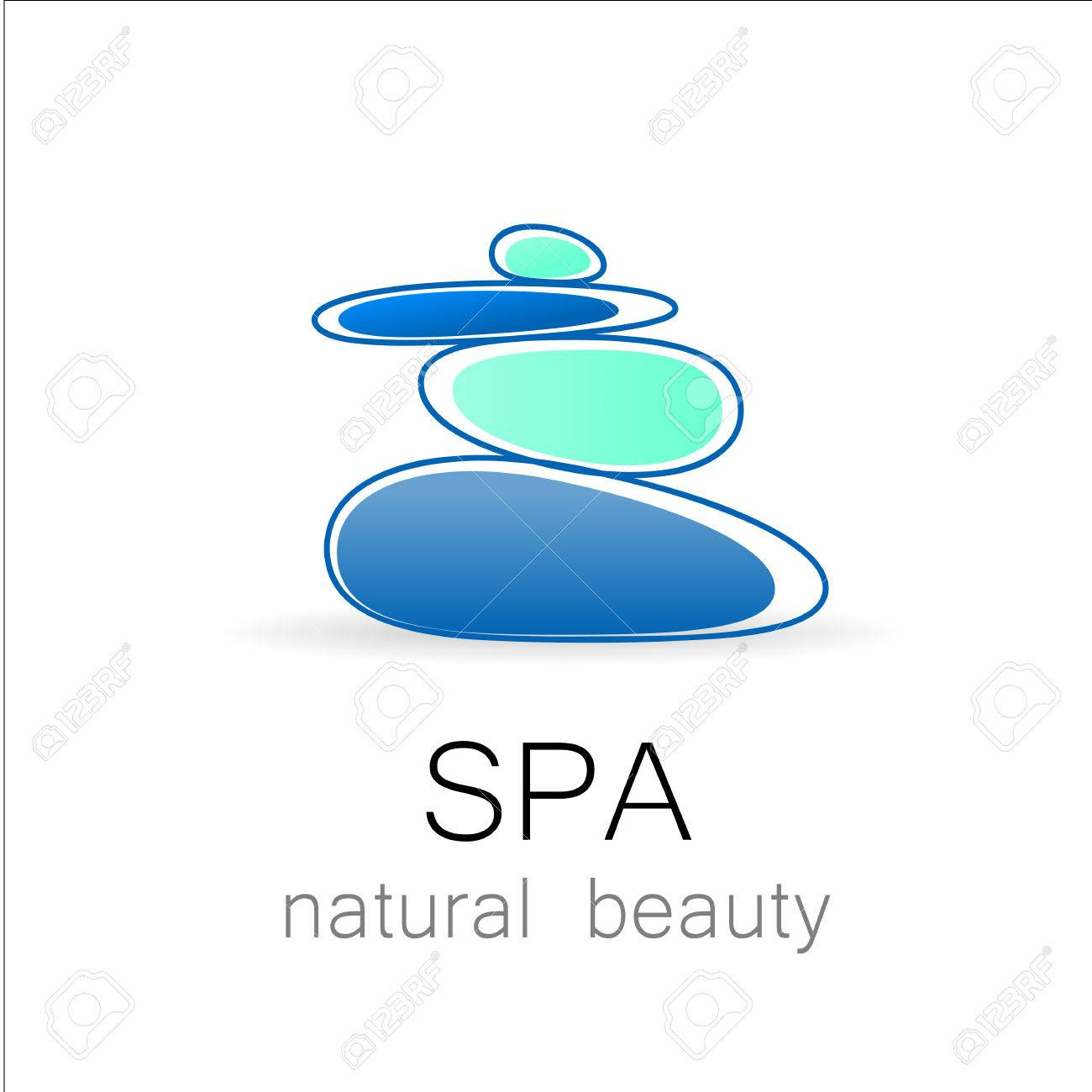 spa template logo for spa lounge beauty salon massage area
