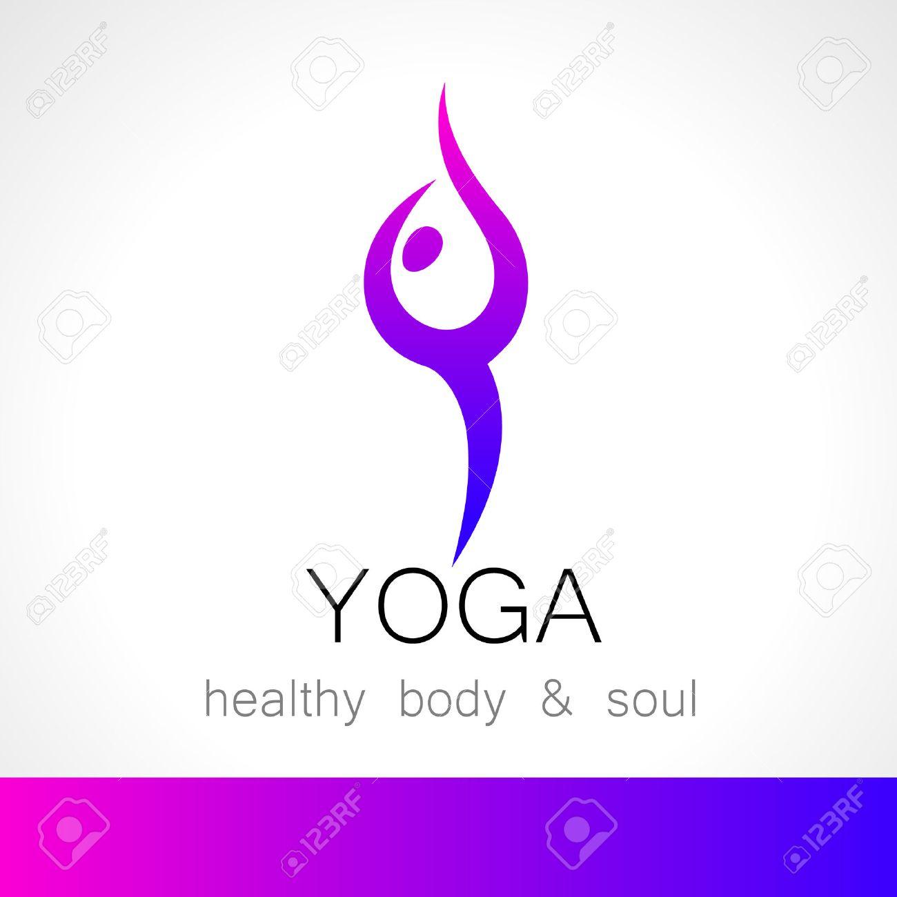 Yoga-Logo - Design-Vorlage. Gesundheitspflege, Schönheit, Spa ...