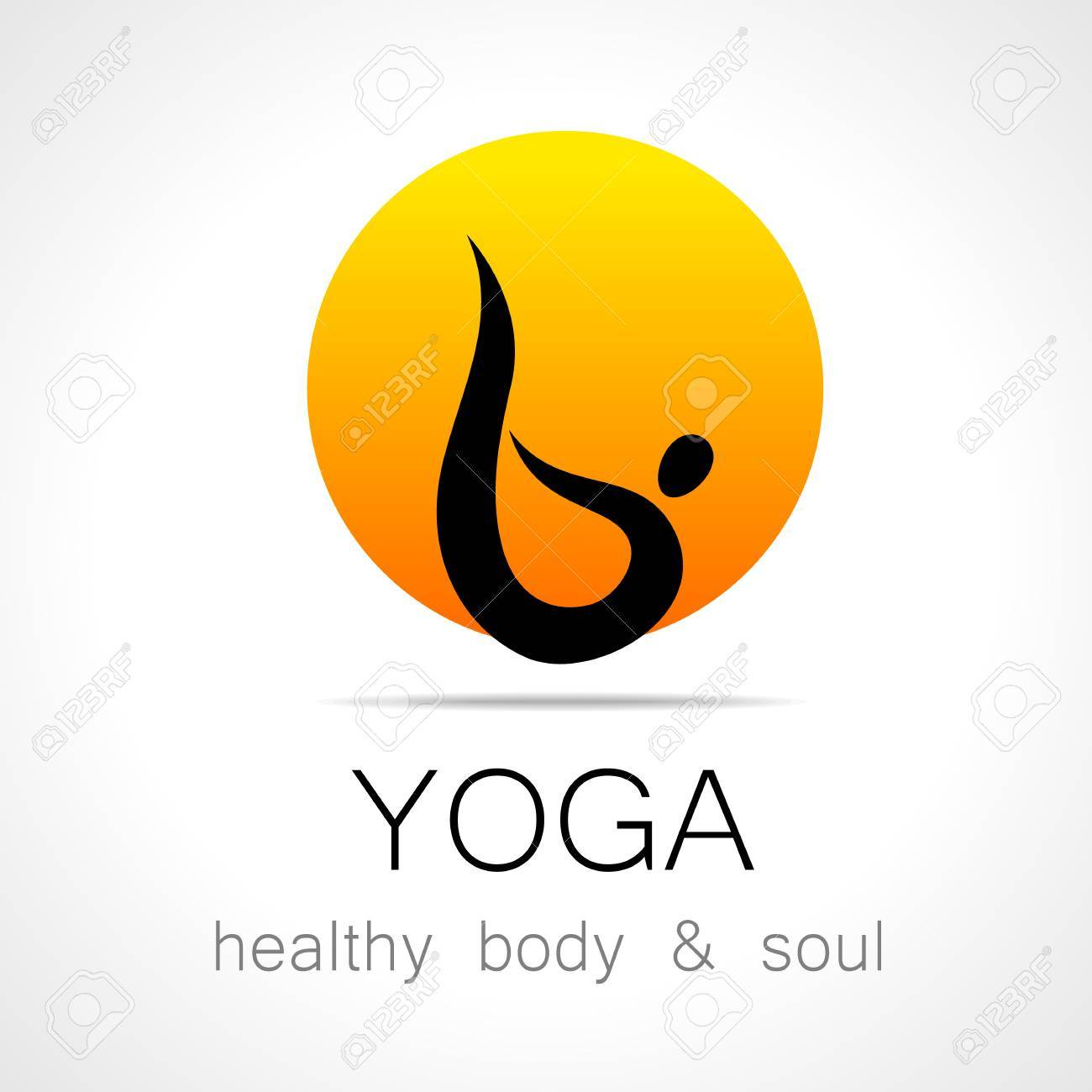 Yoga Logo Design Template Health Care Beauty Spa Relax Royalty Free Cliparts Vectors And Stock Illustration Image 43027281