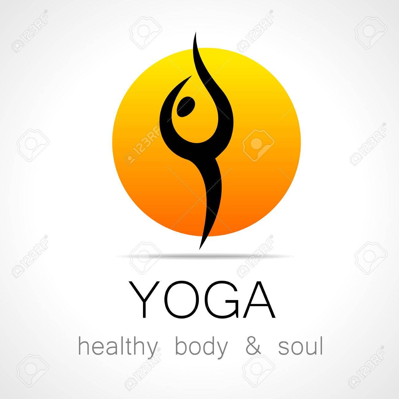 Yoga Logo - Design Template. Health Care, Beauty, Spa, Relax ...