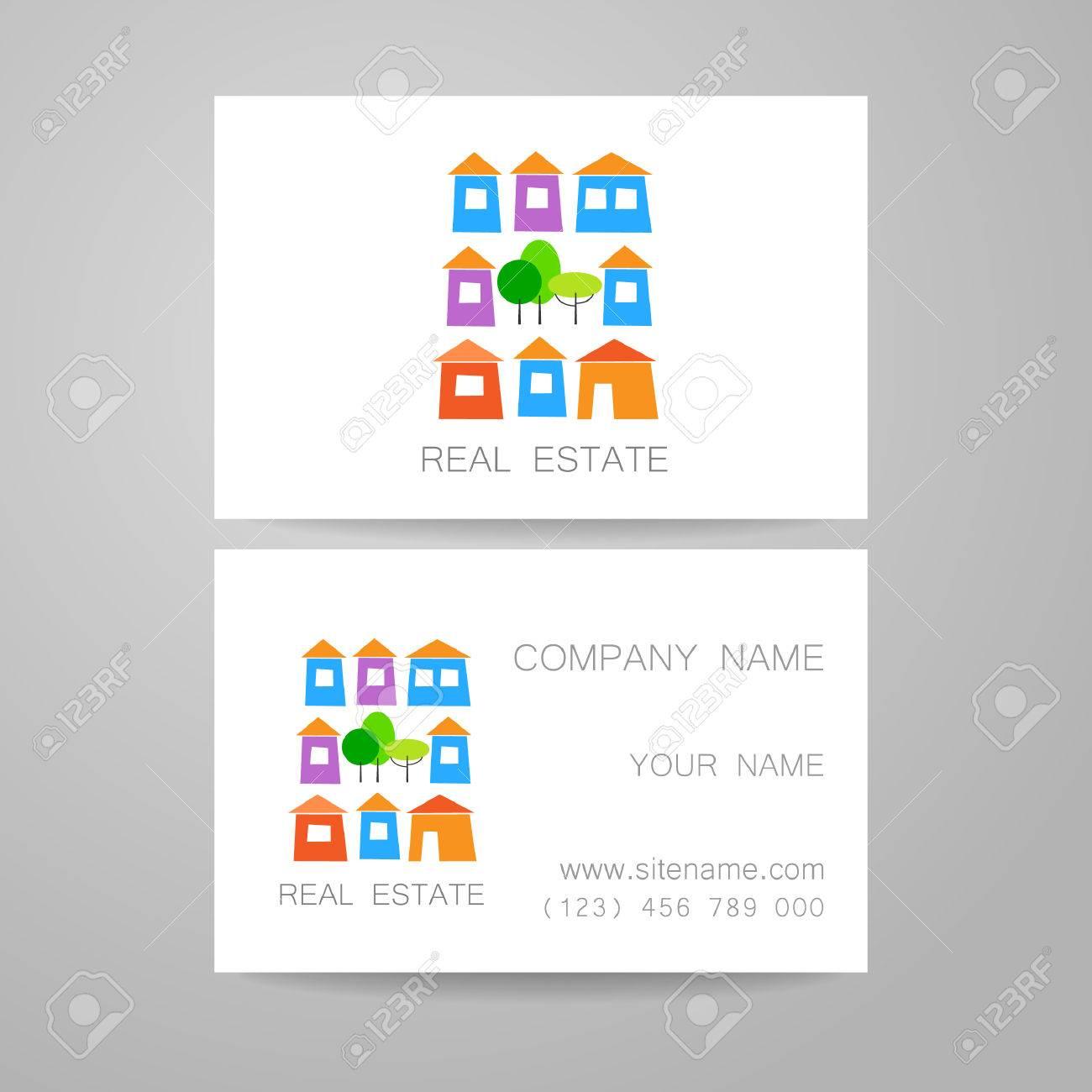 Diseño De La Plantilla De Bienes Raíces De La Identidad Corporativa ...