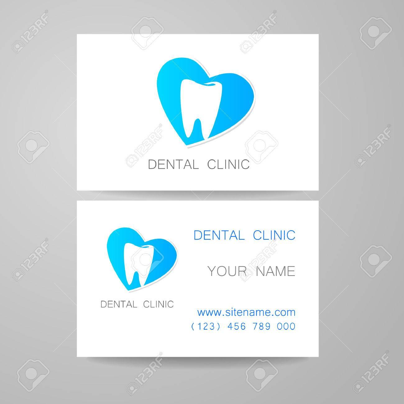 Clínica Dental. Diseño De La Plantilla De Identidad Corporativa ...