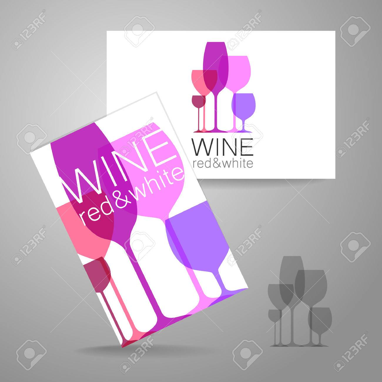 Free Business Card Template Wine Images - Card Design And Card ...
