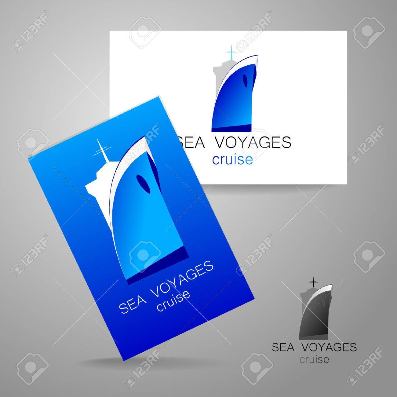 Sea Cruise - Logo. Design Of The Presentation Of Corporate ...