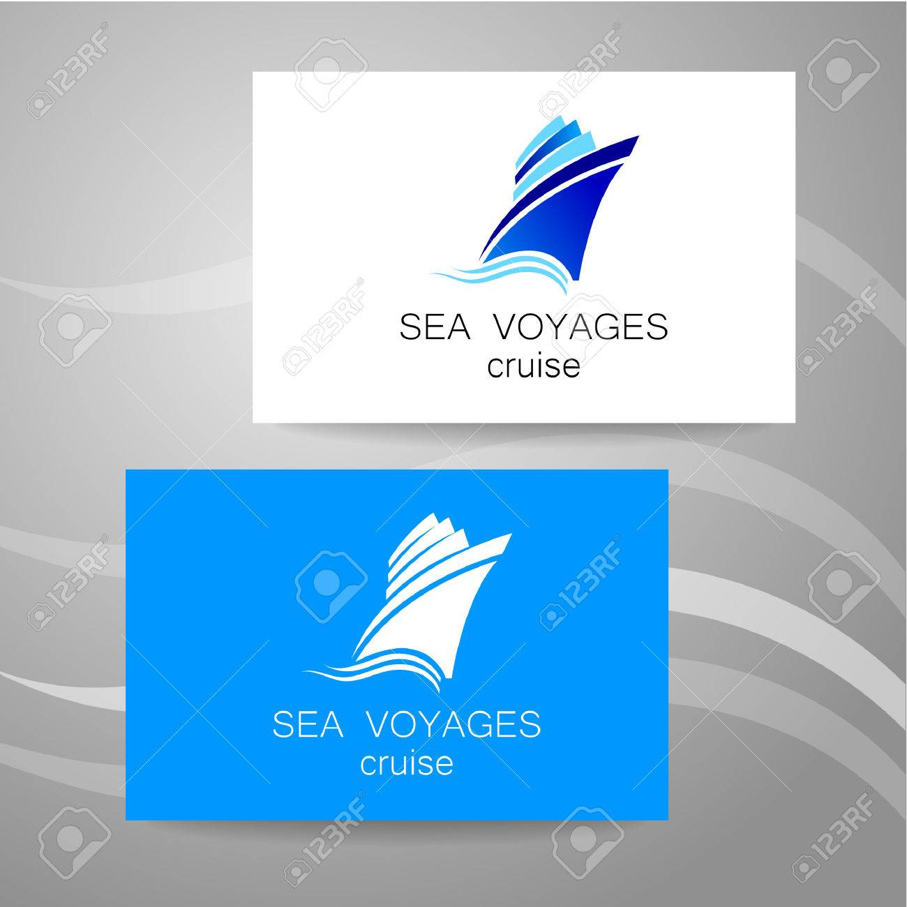 Sea Cruise - Logo. Design Of The Presentation Of Corporate ... for Corporate Logo Design Examples  67qdu