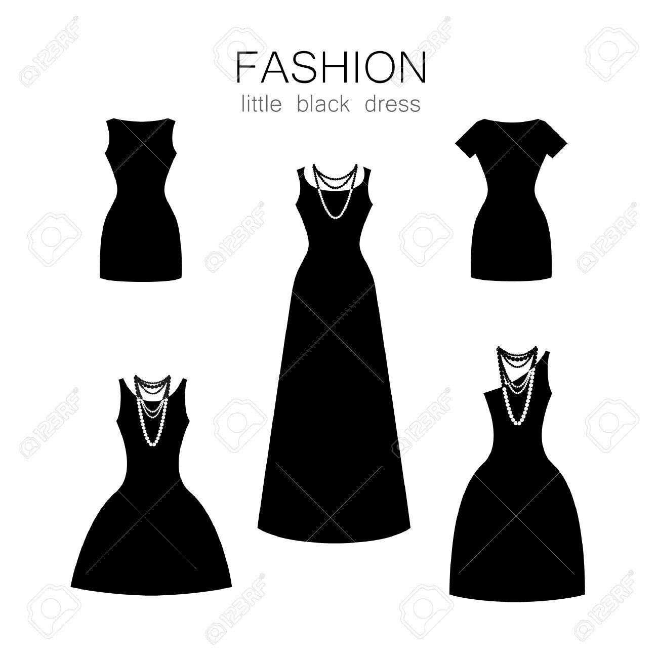 Accesorios Para Vestido Negro Y Blanco Vestidos De Punto 2019