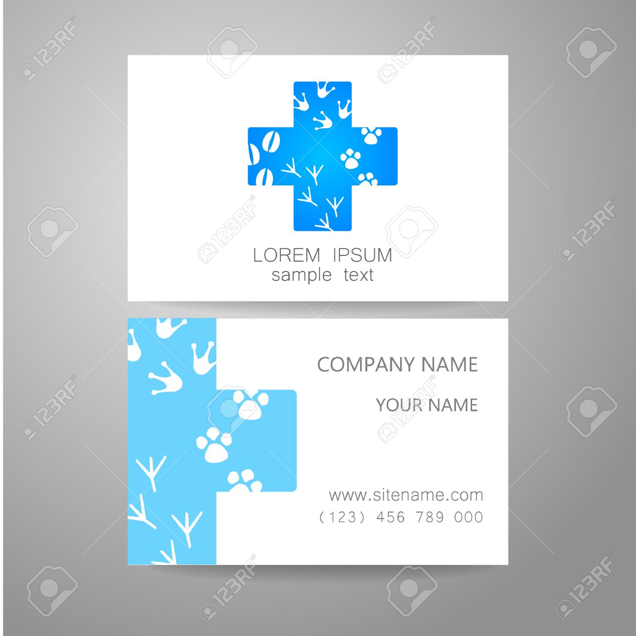 Veterinary - Template Logo. The Idea Of The Logo For The ...