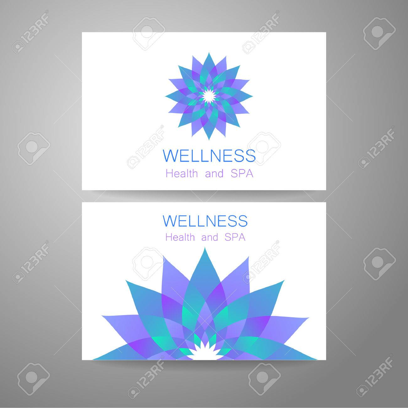 Wellness Logo Template Design Corporate Identity For Yoga Studios Royalty Free Cliparts Vectors And Stock Illustration Image 45483214