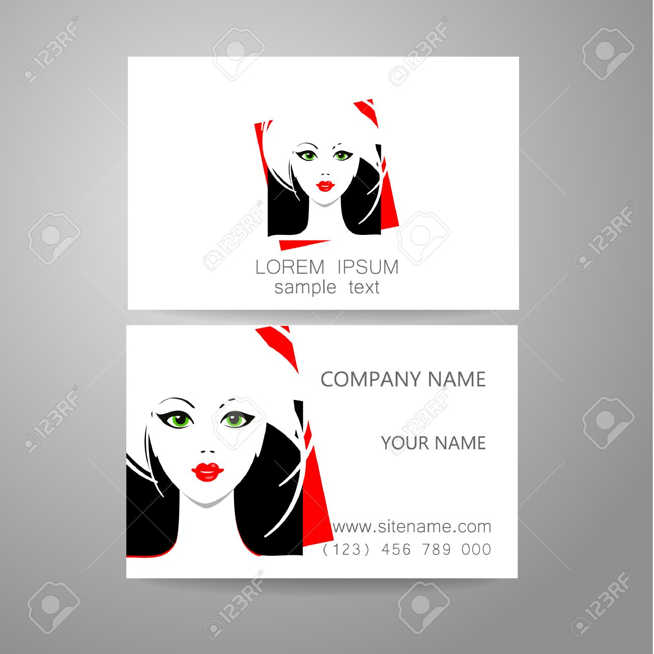 Business Cards For Hairstylist Image collections - Free Business Cards