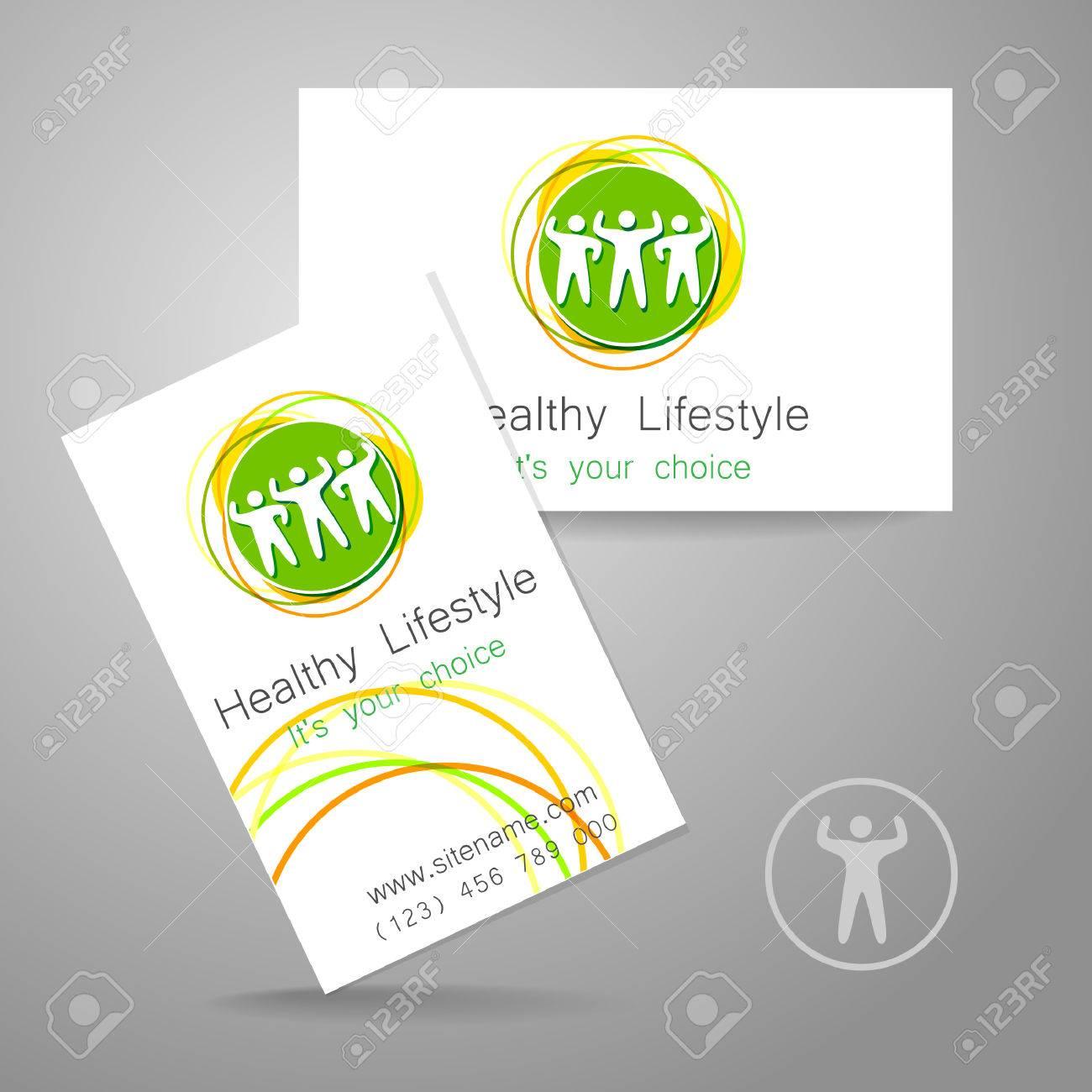 Sport Club Logo. Corporate Design Template Business Card Sports ...
