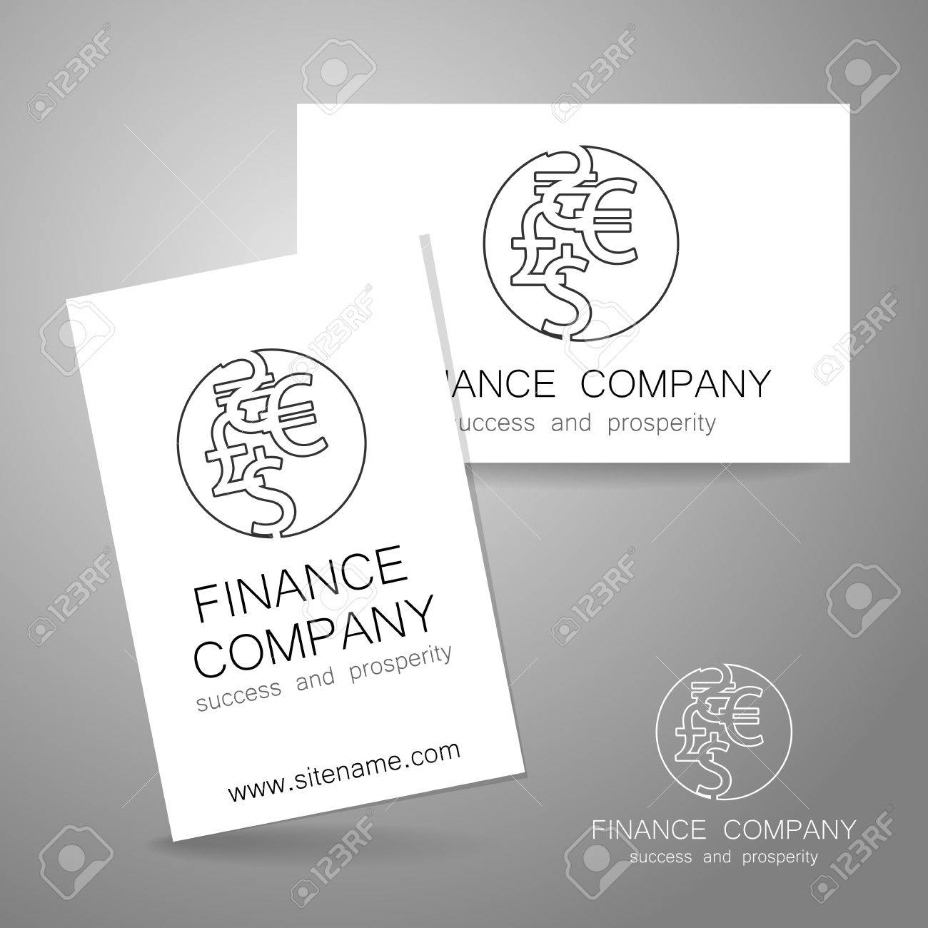 Financial company template logo sign of the money a symbol sign of the money a symbol of the dollar biocorpaavc Images