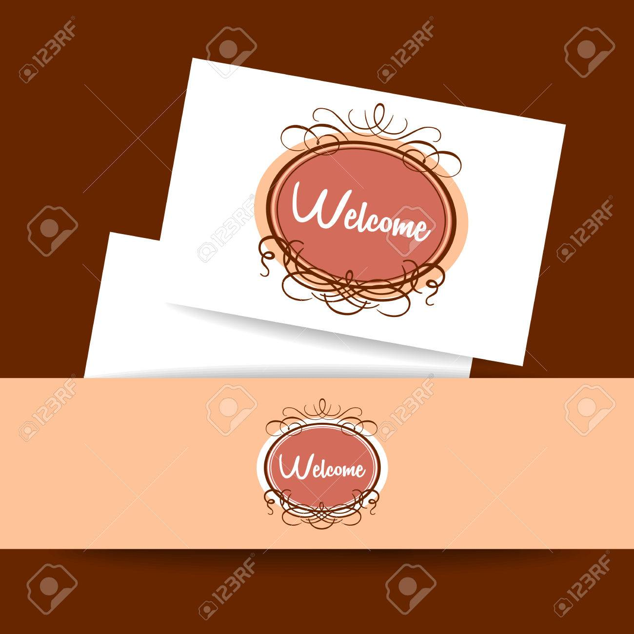 Welcome design template invitation gala decorations royalty free welcome design template invitation gala decorations stock vector 50093312 stopboris Gallery