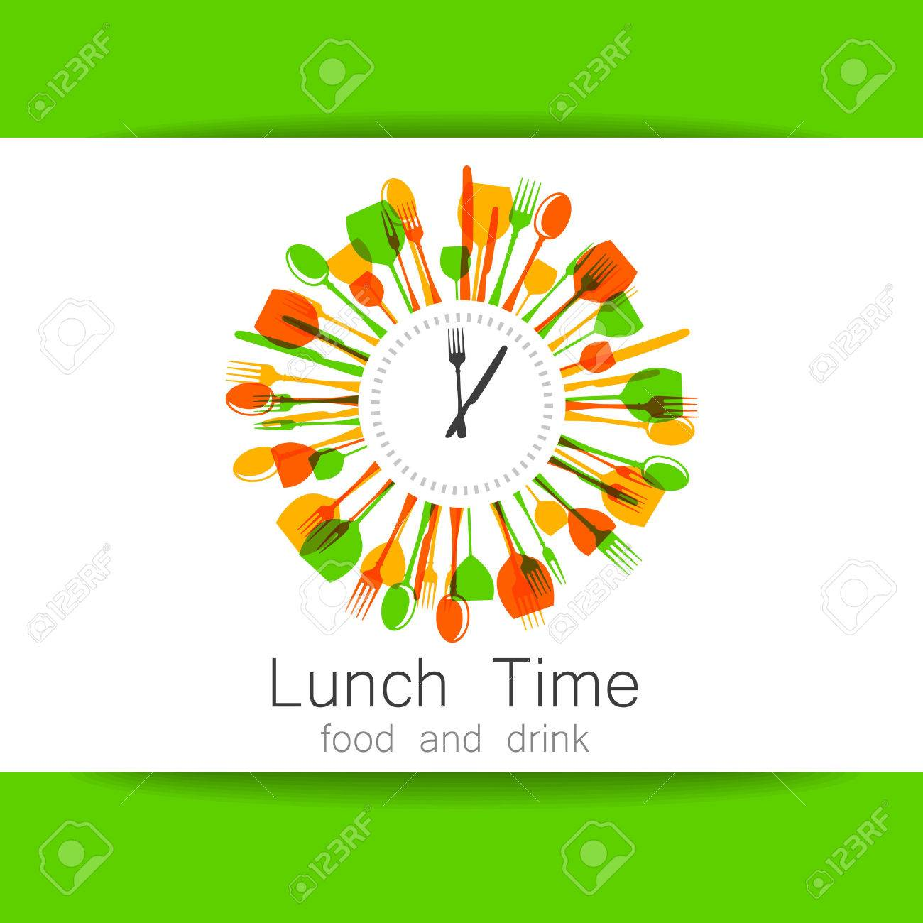 Restaurant, coffee shop, fast food, food delivery. Template design for corporate identity. Stock Vector - 50001939