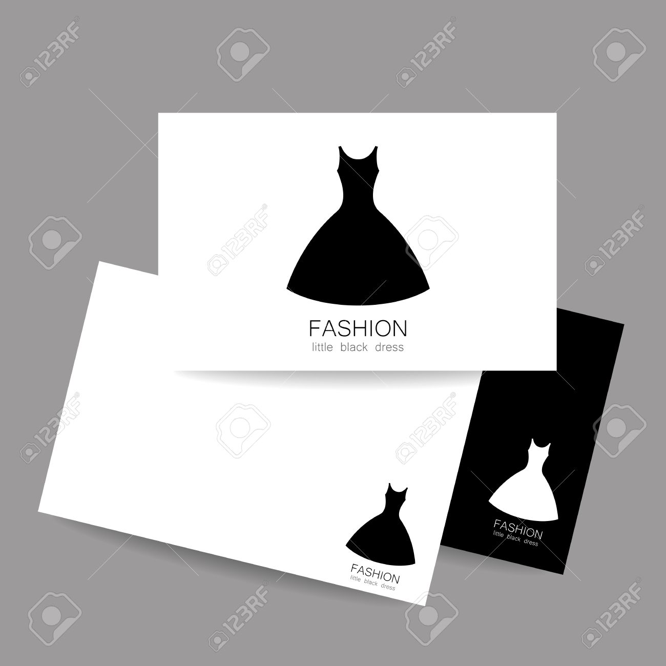 Concept Business Card Design For Fashion Shop Boutique Factory Royalty Free Cliparts Vectors And Stock Illustration Image 59652602