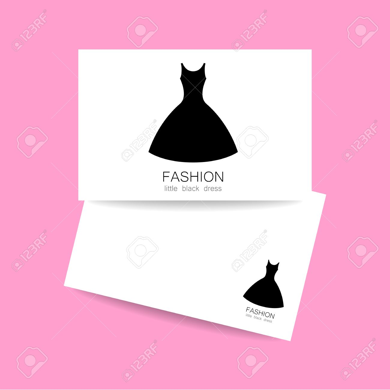 Concept business card design for fashion shop boutique factory concept business card design for fashion shop boutique factory on tailoring fashion show reheart Images