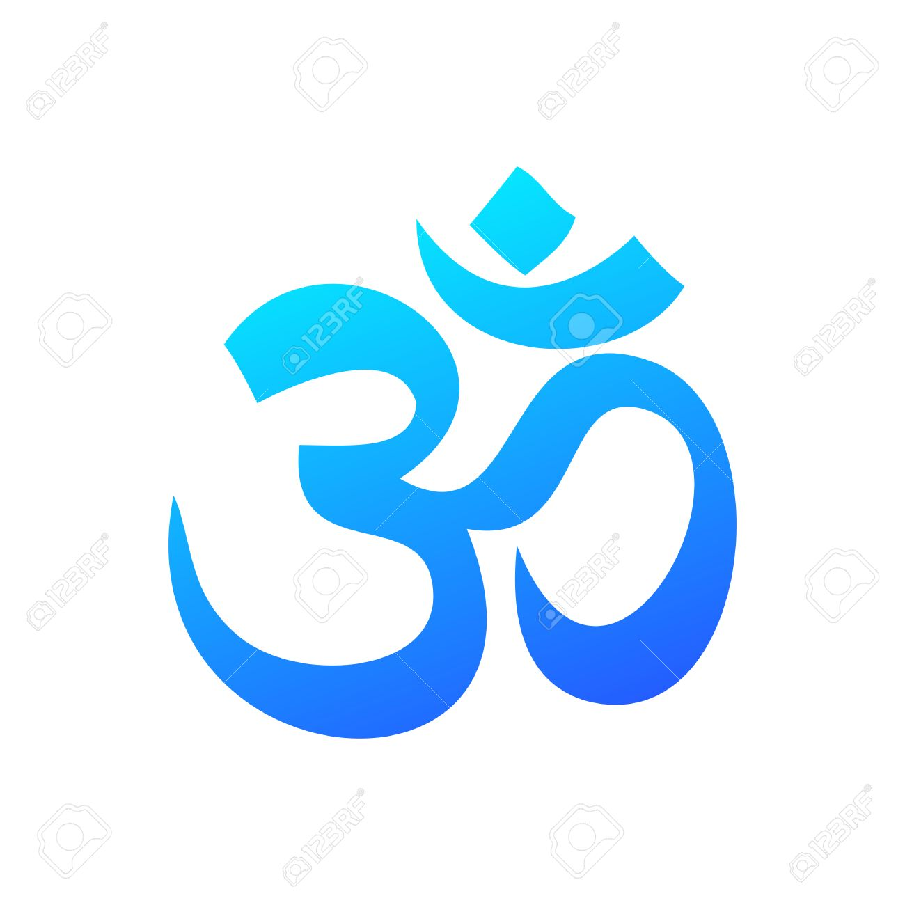 Om Hinduism Symbol Royalty Free Cliparts Vectors And Stock