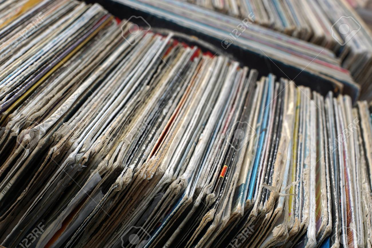 where to sell old vinyl records