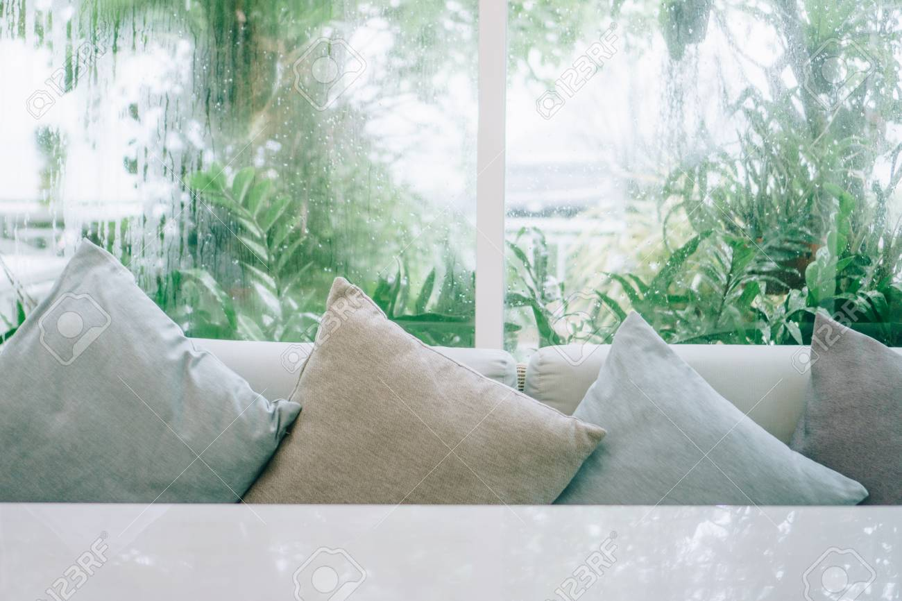Beautiful Modern Living Room Vintage Style With Nature Green Stock Photo Picture And Royalty Free Image Image 107001330