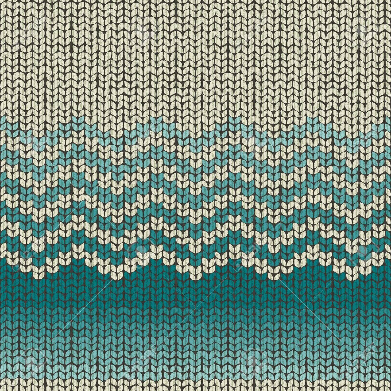 Patrón De Lana De Punto, Textil Sin Costura, Colores De Moda 2017 ...