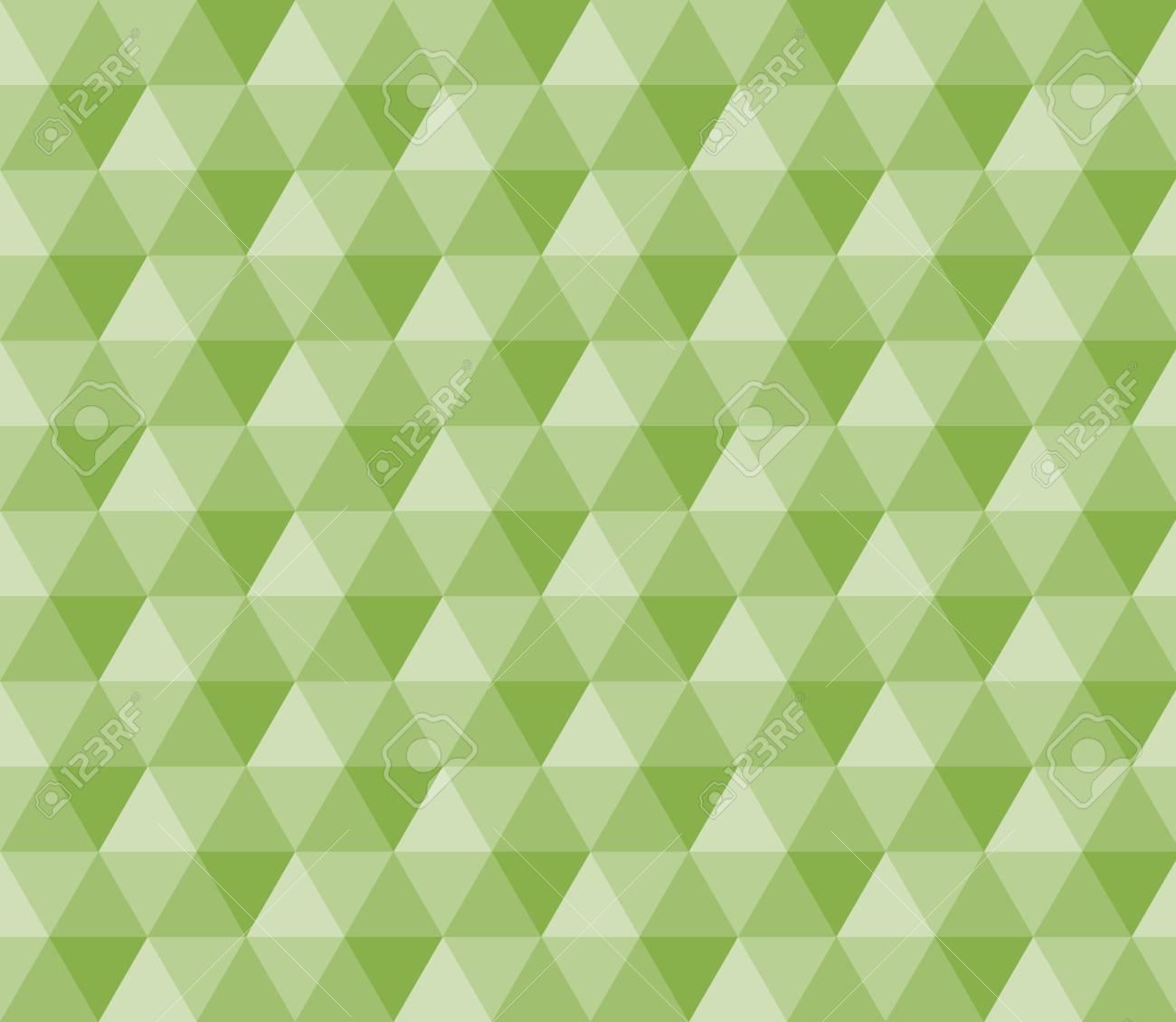Banque Du0027images   Greenery Polygon Géométrique Seamless Pattern Background  Vector. Tendance Couleur 2017
