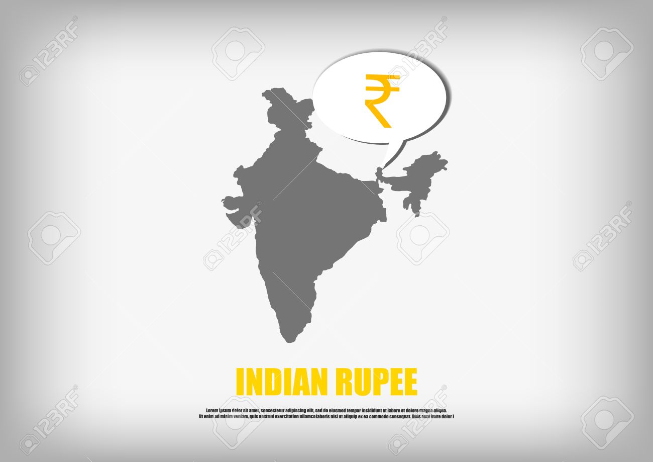 Vector india map and indian rupee symbol in bubble quote royalty vector india map and indian rupee symbol in bubble quote stock vector 45661714 buycottarizona