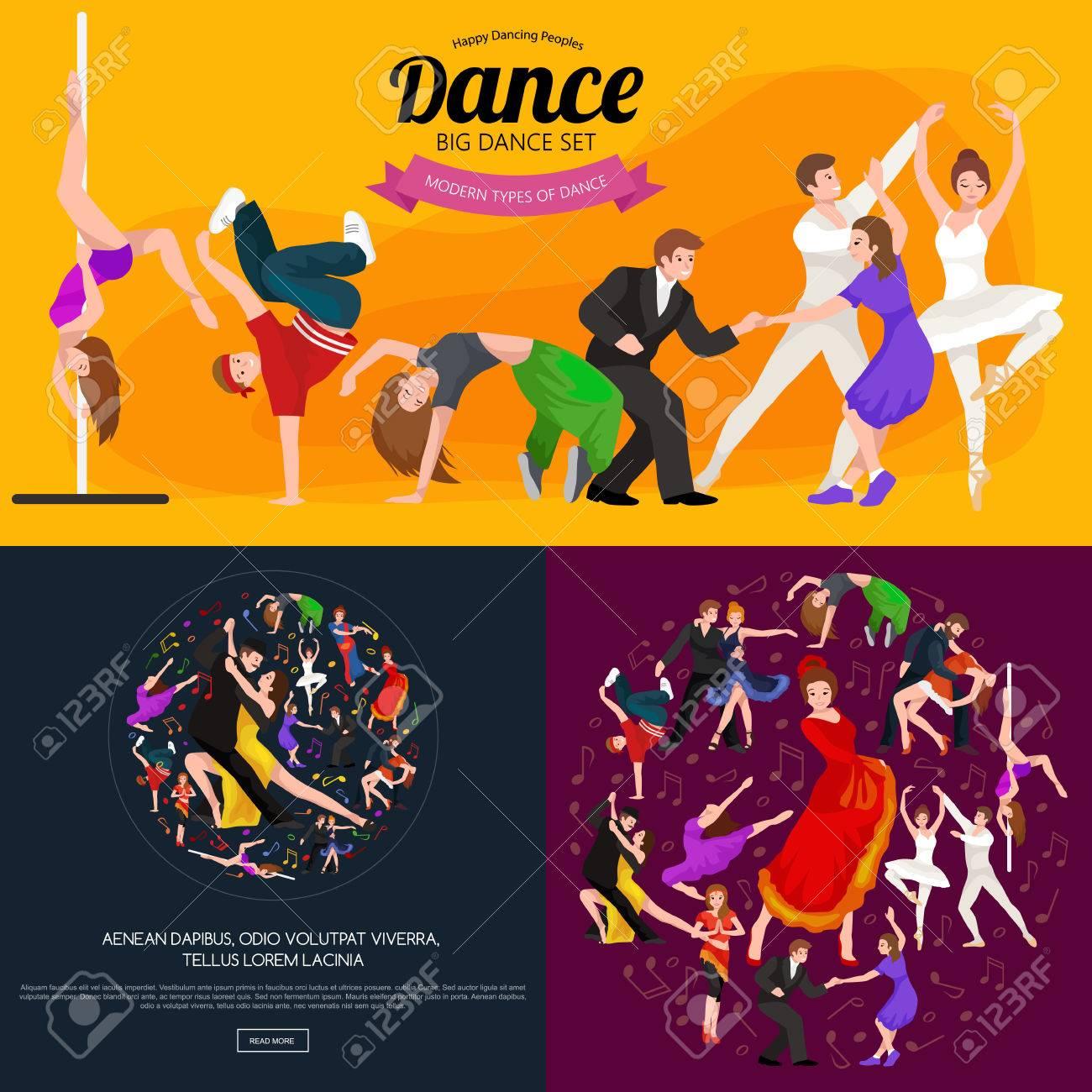 Tanzen-Leute, Tänzer Bachata, Hip-Hop, Salsa, Indisch, Ballett ...