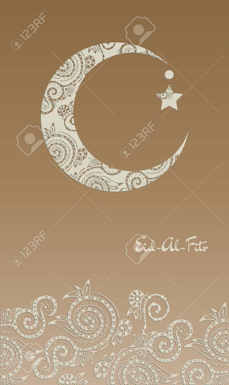 Must see Hajj Eid Al-Fitr Decorations - 41071810-crescent-moon-decorated-with-zentangle-for-muslim-community-festival-eid-al-fitr-mubarak-  2018_793269 .jpg