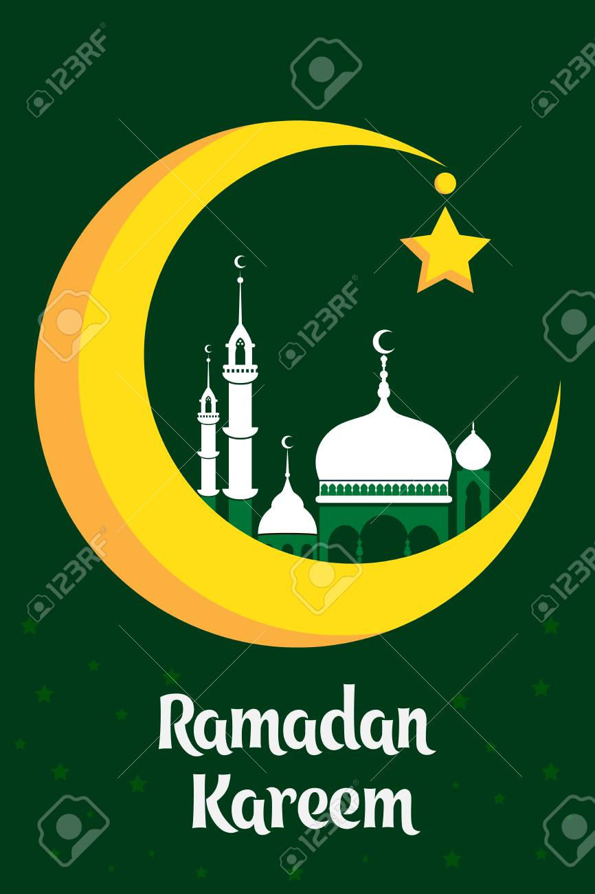 Must see Traditional Eid Al-Fitr Decorations - 77528775-crescent-moon-decorated-with-zentangle-for-muslim-community-festival-eid-al-fitr-mubarak-greeting-ca  Trends_715529 .jpg