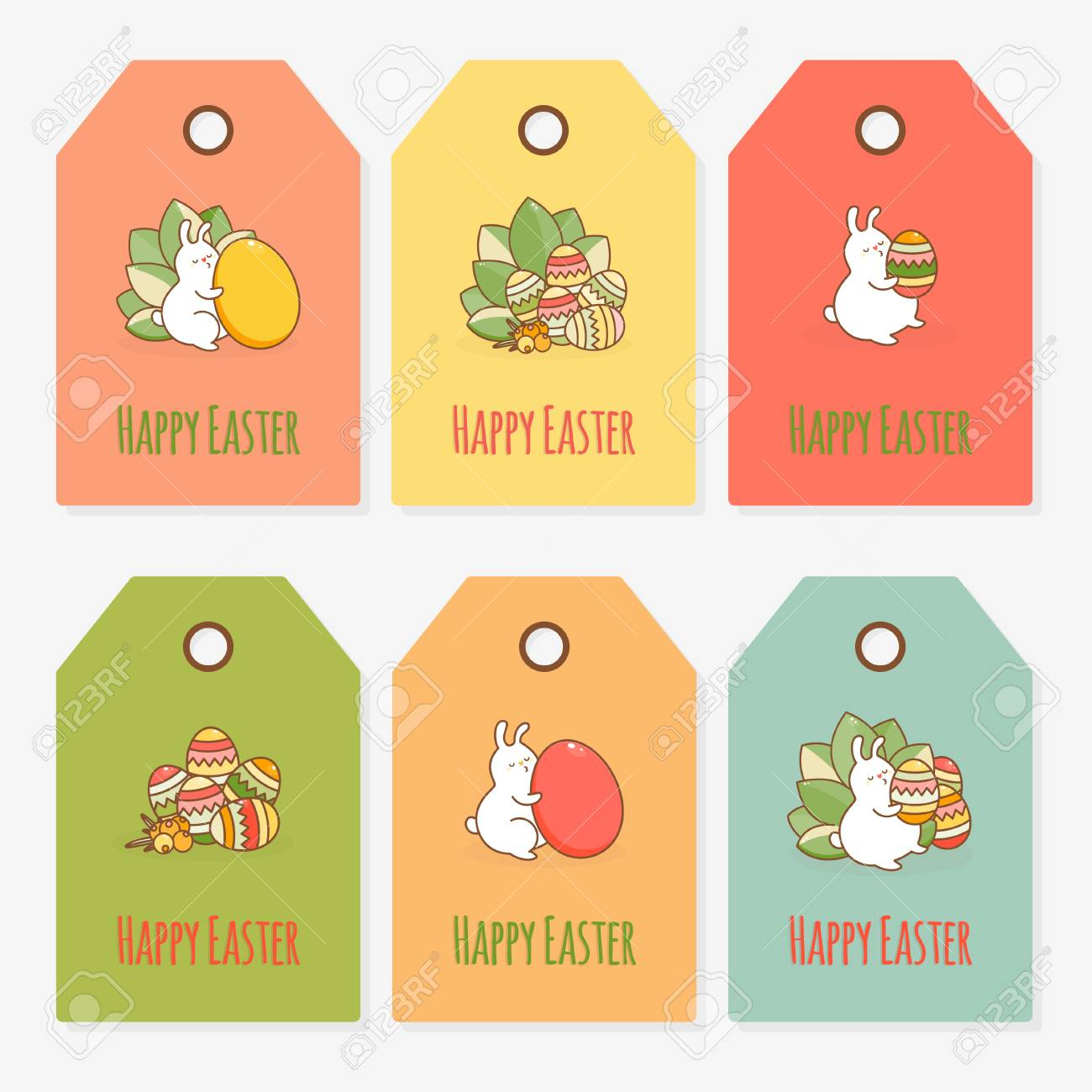 Easter gift tag template vector illustration royalty free cliparts easter gift tag template vector illustration stock vector 75739531 negle Choice Image