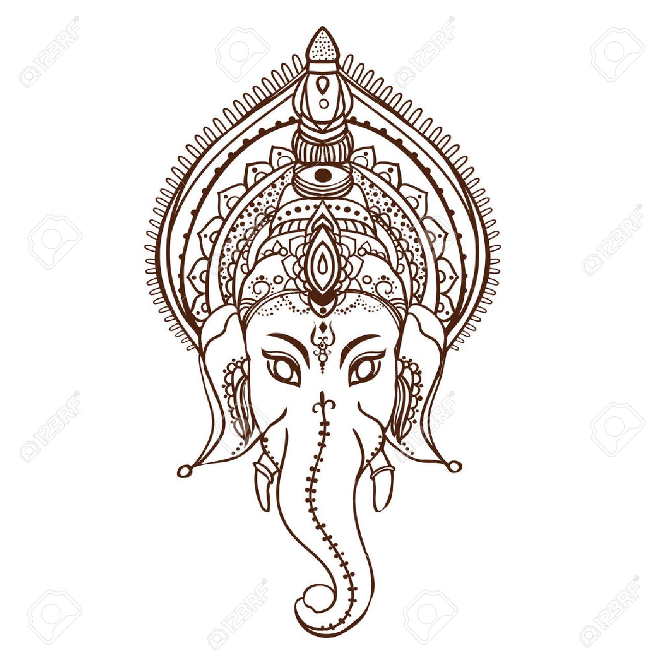 Ganesha Stock Photos And Images 123rf