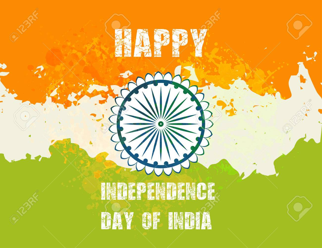 Ornametal Poster Independence Day Of India It Celebrated Annually