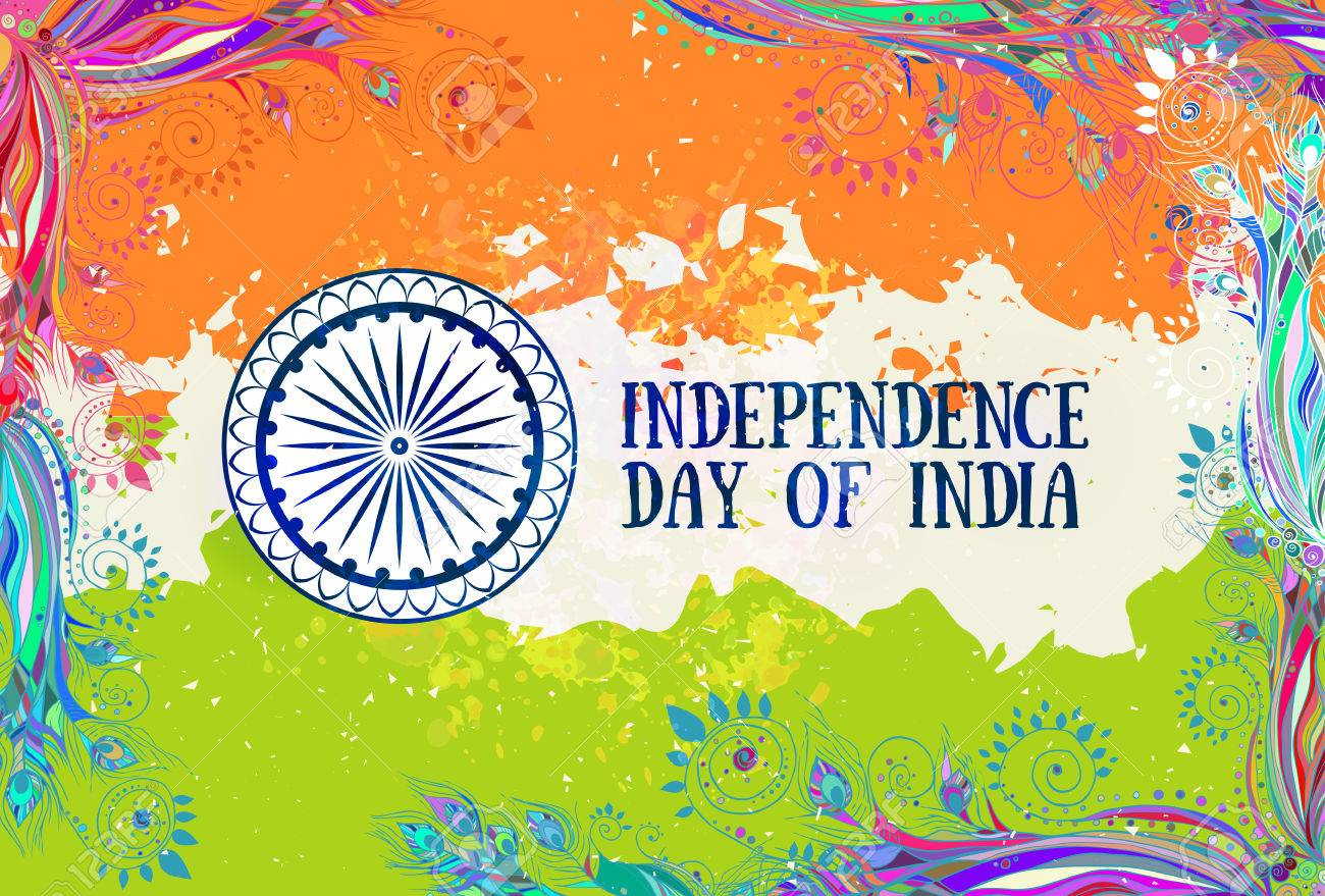 Poster Independence Day Of India It Celebrated Annually On August