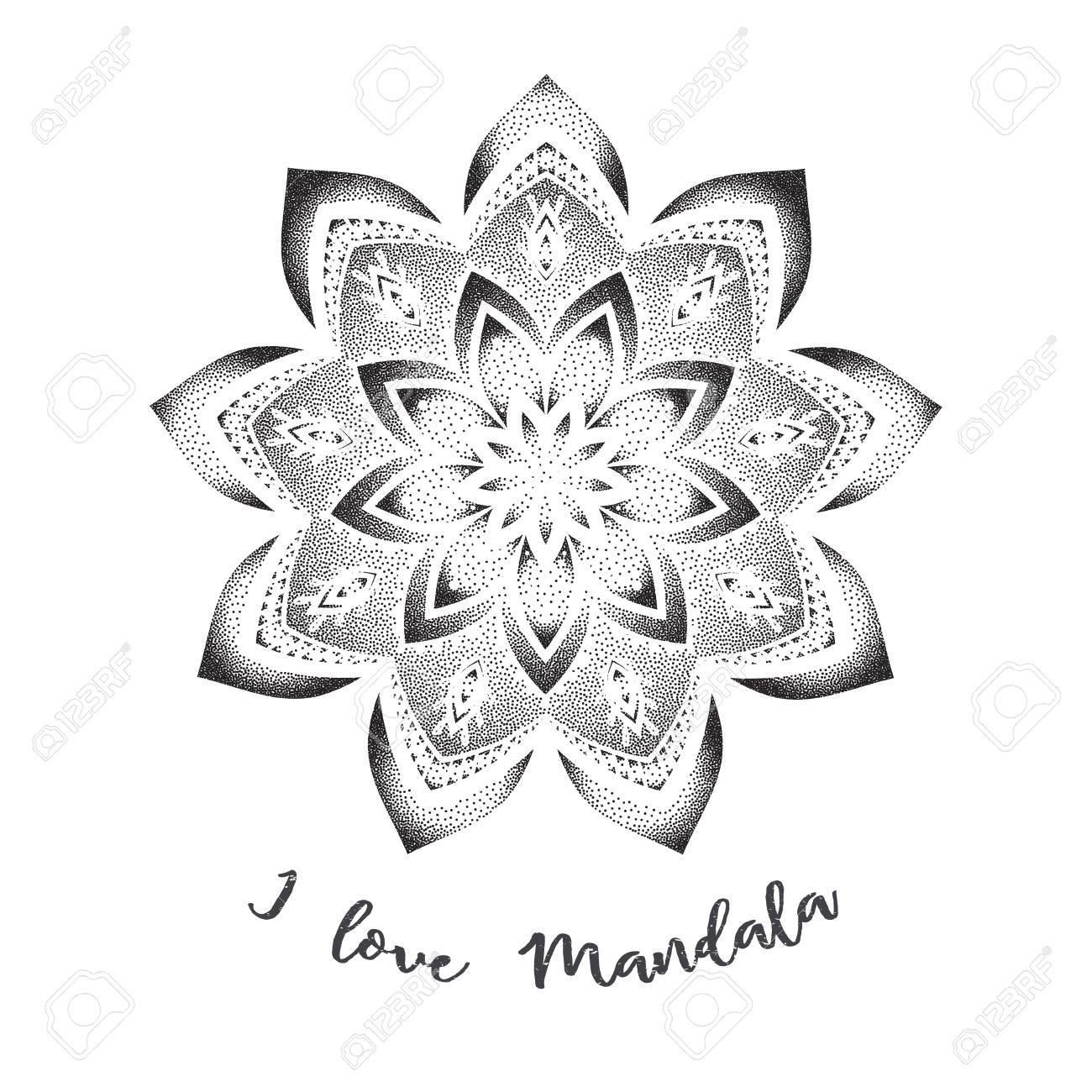 Conjunto Mandala Y Otros Elementos Vector Mandala Del Tatuaje