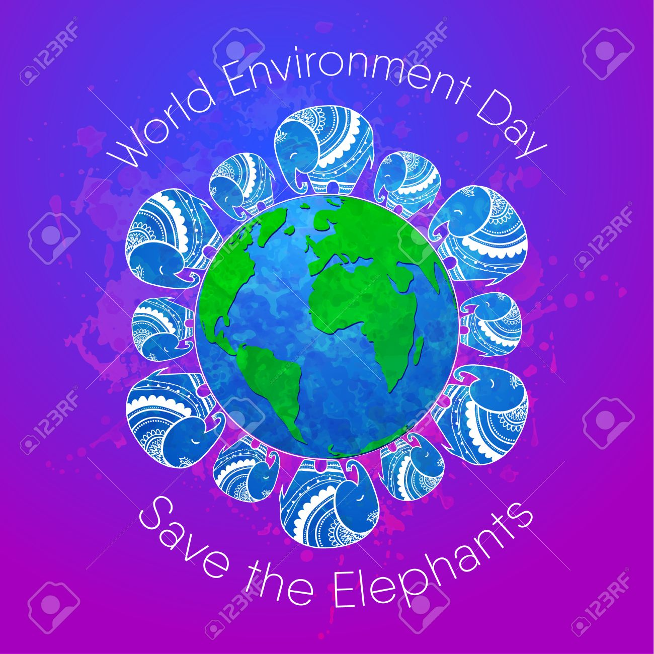 Poster design environment - World Environment Day Concept Design For Banner Print Poster Greeting Card