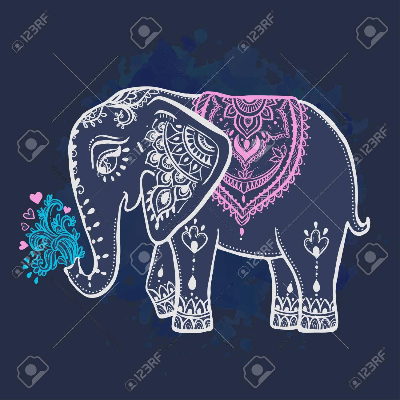 Asombroso Diseño Fresco Para Colorear Elefantes Modelo - Enmarcado ...