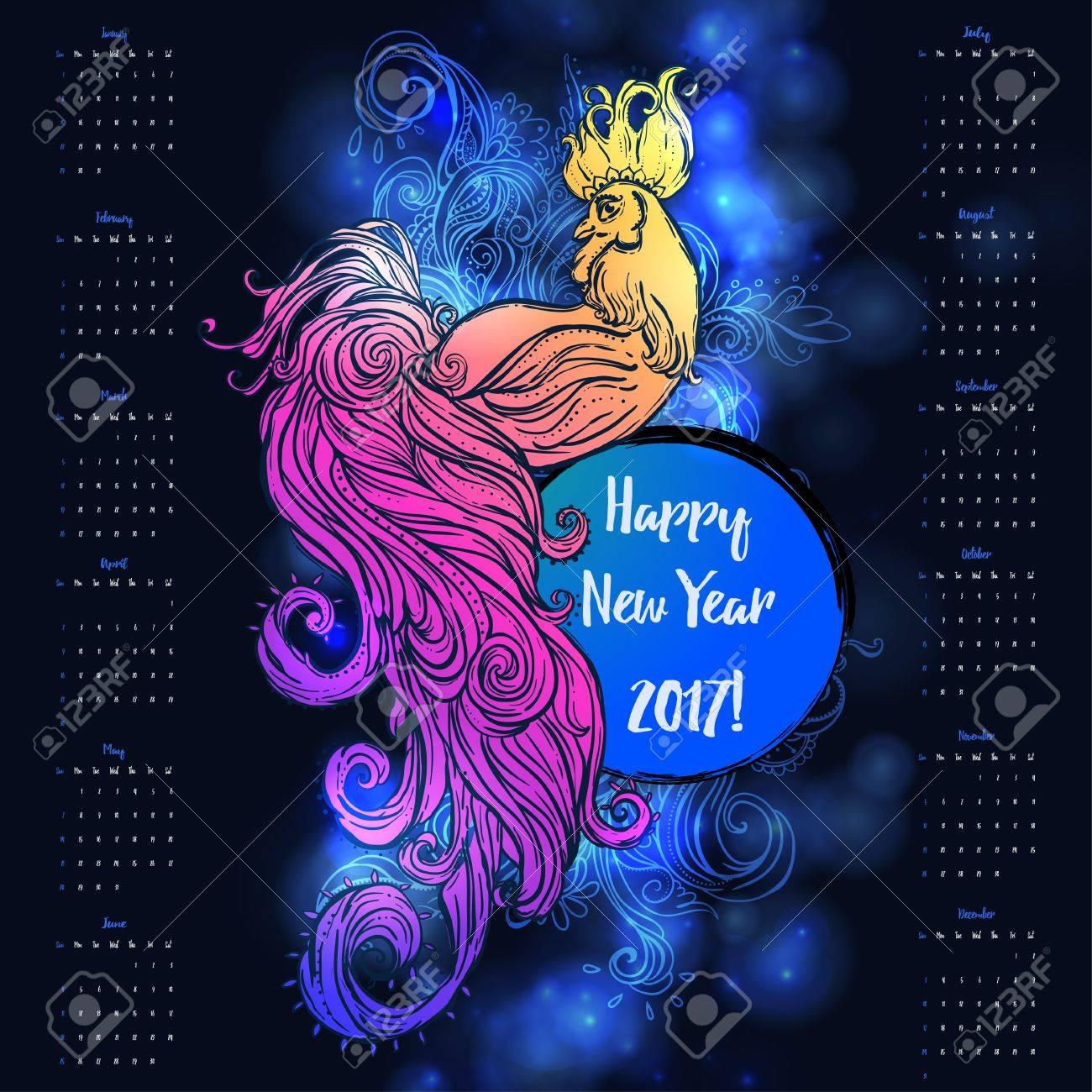 Famoso Año Nuevo Chino 2017 Para Colorear Motivo - Dibujos Para ...