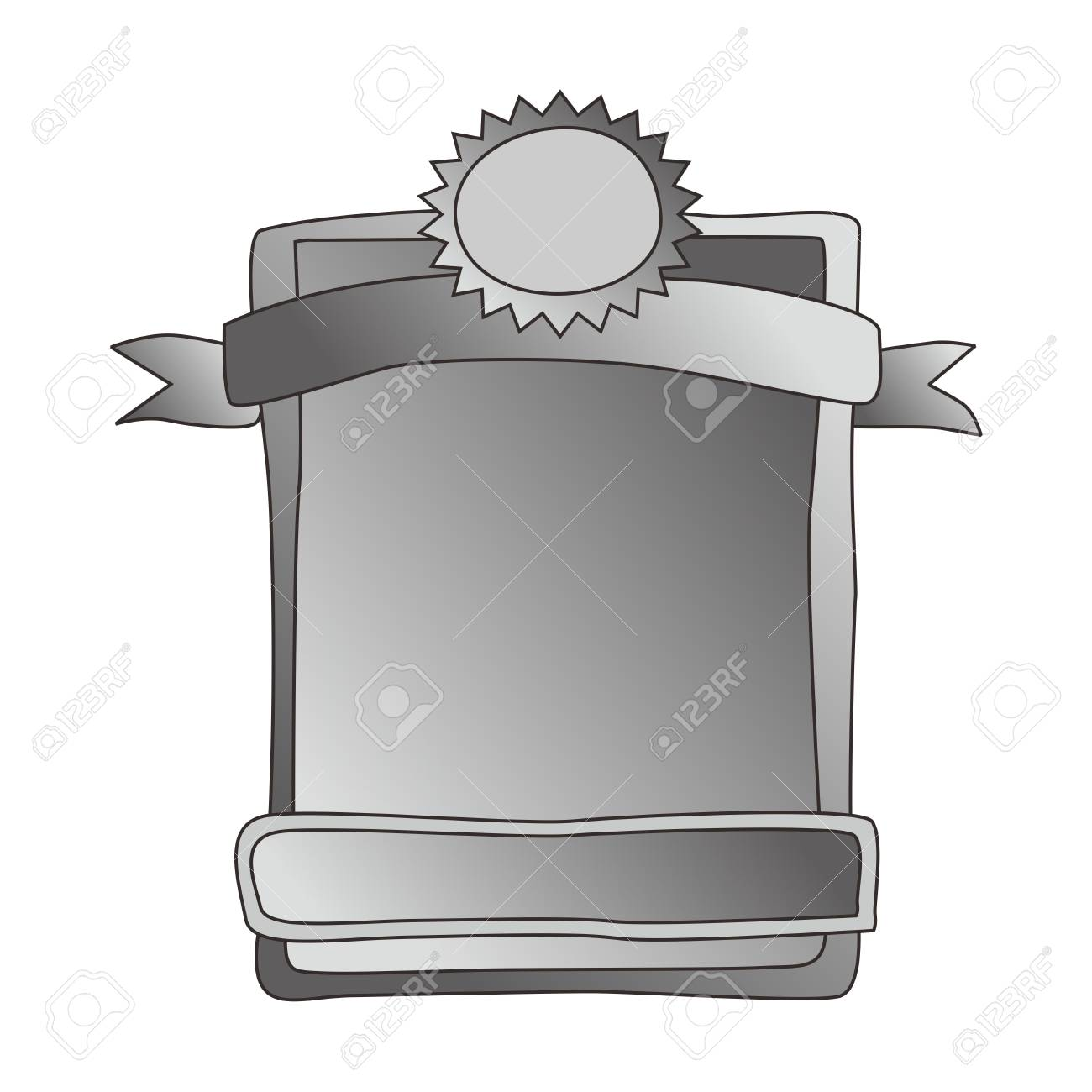 label silver Stock Vector - 20476527